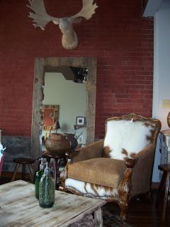 Rustic decor at Aardvark Decor