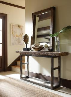 Hallway stand with mirror