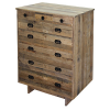 13 drawer Rustic wood dresser